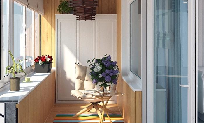 Шкаф на балкон: какой выбрать - компания техносервис.